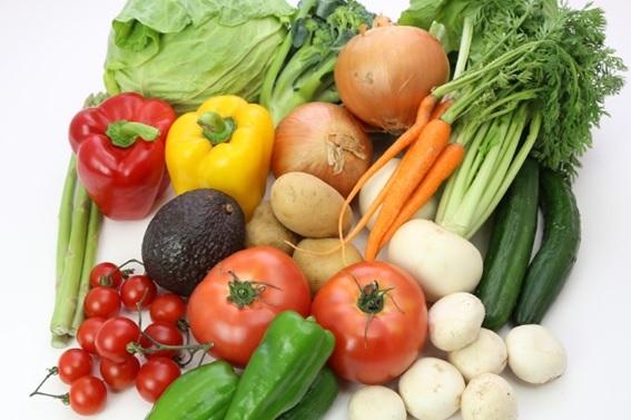 野菜のたくさんのセット