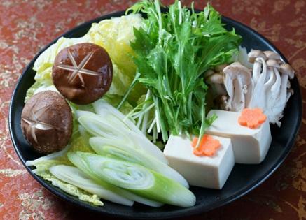 野菜としゃぶしゃぶ
