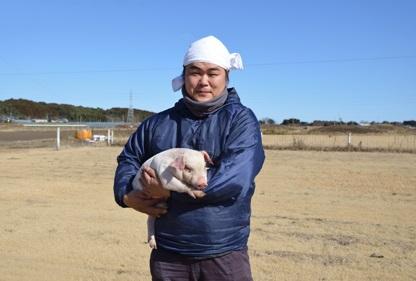 しゃぶしゃぶの豚肉