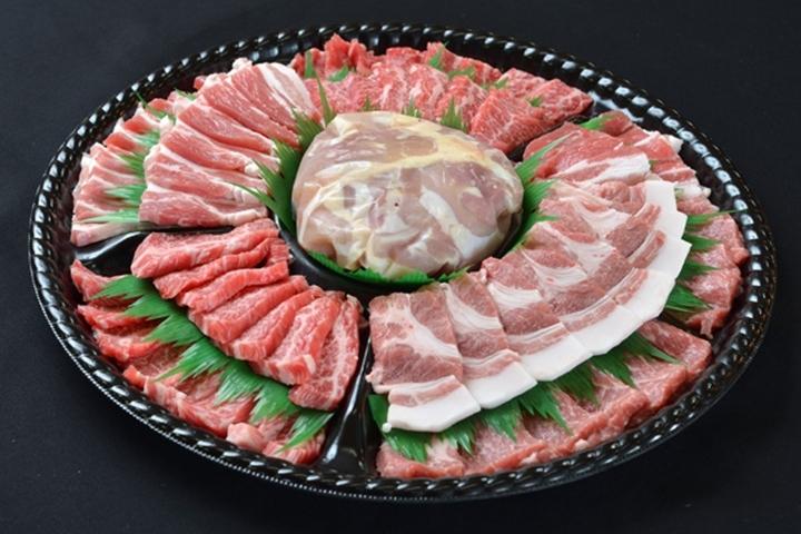 肉盛りオードブル焼肉1.2kg